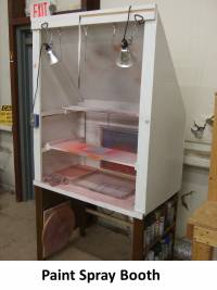 Paint Spray Booth Seal Molding